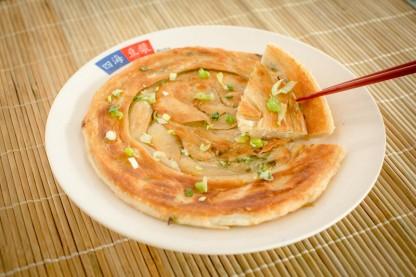 蔥油餅 - Onion Pancake