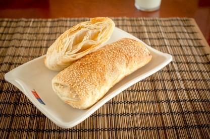 燒餅 - Oven Baked Flaky Bun