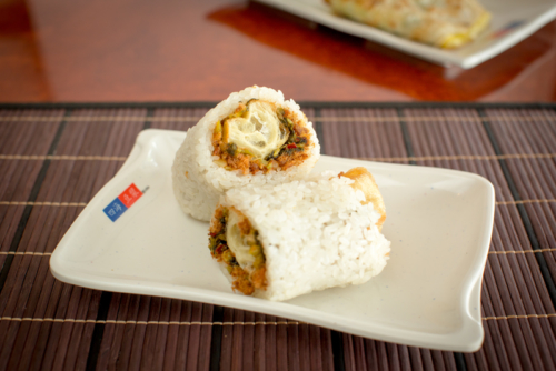 鹹飯糰 – Salty Rice Roll
