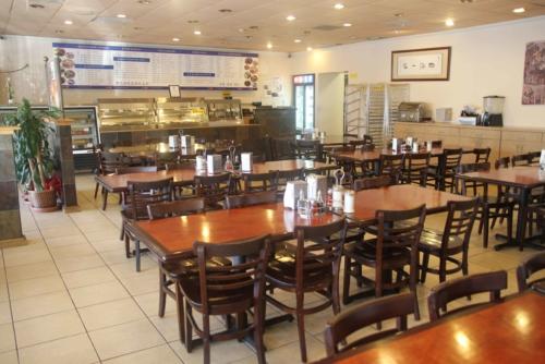 San Gabriel dining area