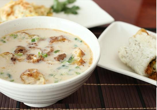 鹹豆漿 – Salty Soy Milk, another view