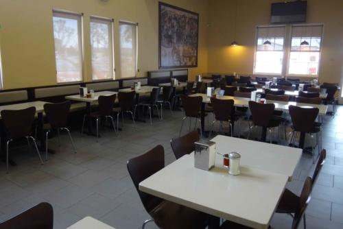 Irvine dining area