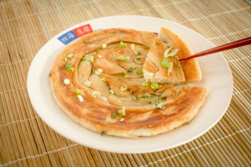 蔥油餅 – Onion Pancake