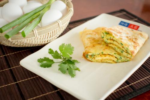 蛋餅 – Egg Crêpe